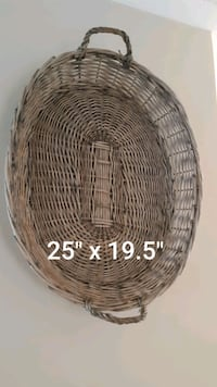 Wicker basket Halton Hills, L7G 6K3