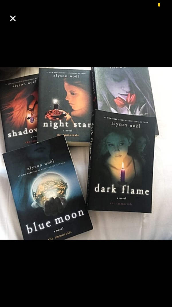 Alyson Noel Novel Series