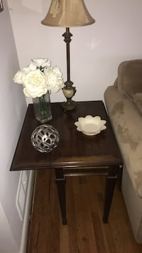 End table foldable