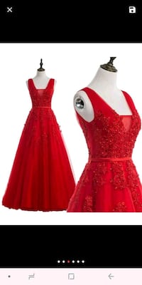 women's red sleeveless dress Silver Spring, 20902