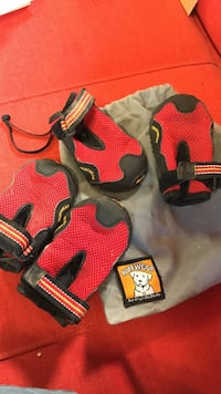 Ruffwear dog shoes large. $60 new
