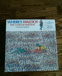 Where's Waldo? The Land of Waldos Puzzle