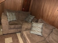 Suede Couch and Love Seat Set Washington, 20019