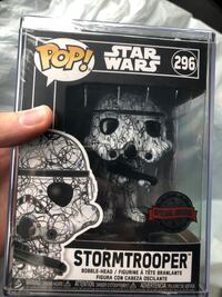 Futura Stormtrooper Funko Pop BNIB with Hard Protector! Vaughan, L4L 1X7