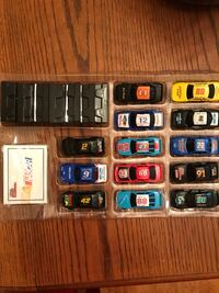 1993 Racing Champions Set Of 13 NASCAR Cars, Cards, & Stands Louisville, 40213