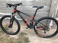 Black and red hardtail mountain bike North Las Vegas, 89030