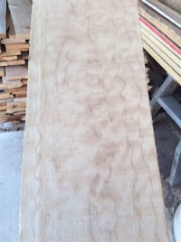 MAPLE (Western) 1 inch Figured/Quilted KILN DRIED PLANED