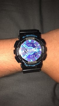 Round black casio g-shock digital watch Seal Beach, 90740