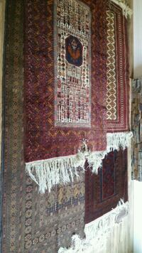 brown and white floral area rug Antioch