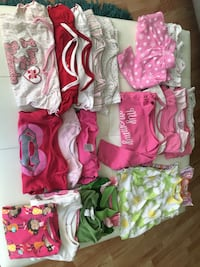 22 pieces clothing girls 6-12 months  Edmonton, T5T 2B3