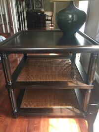solid wood end tables (2) ASHBURN