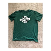 Green crew-neck t-shirt Oxnard, 93030