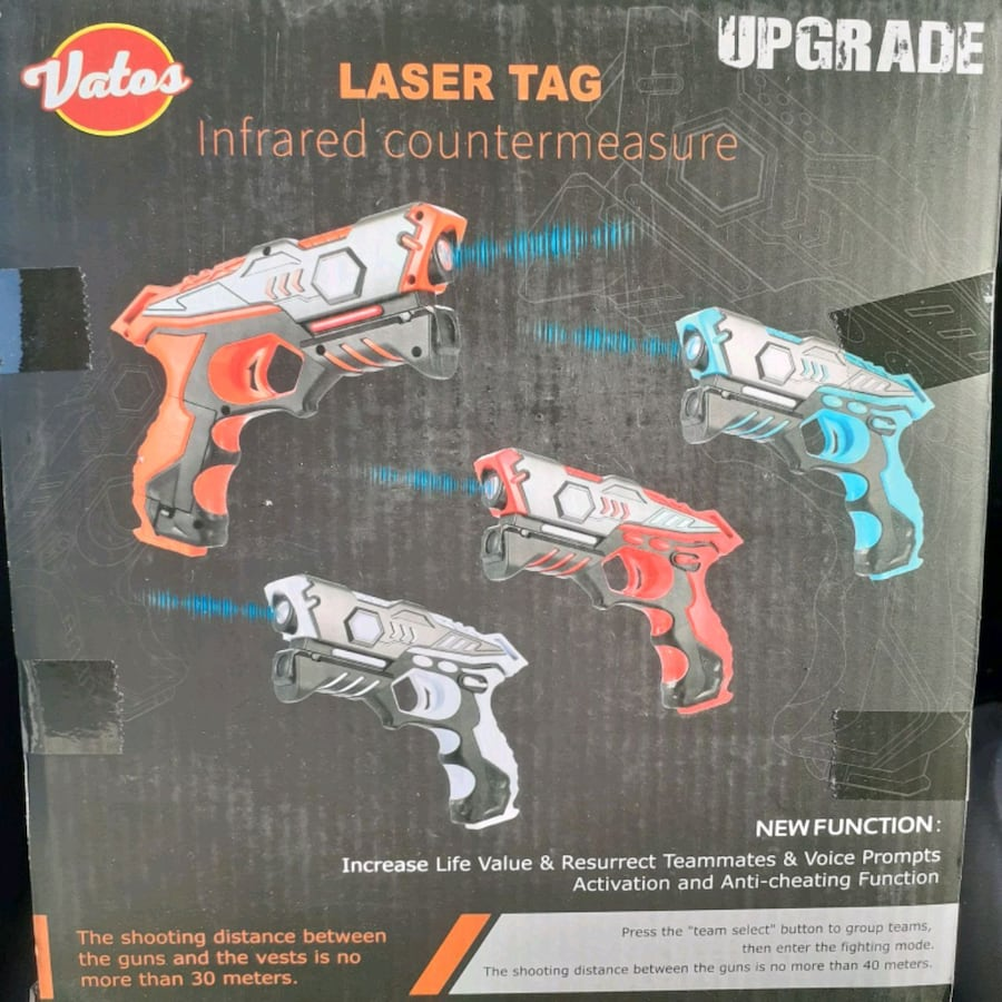 Lazer tag play set