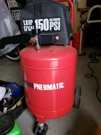 Central Pneumatic 17 gal air compressor Chino Hills, 91709