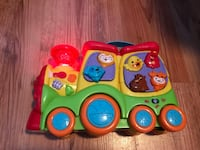 toddler's yellow and red learning toy Prince Albert, S6V 7B3