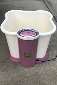 Foot & Leg Spa Bath Massager!14' deep-tub massage therapy in home.