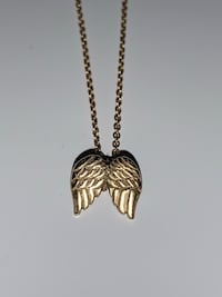 Gold Angel Wings Necklace  Herndon, 20171