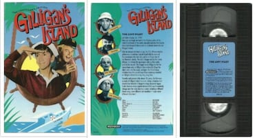 vhs Gilligan's Island  THE LOST EPISODE  Pick-up in Newmarket