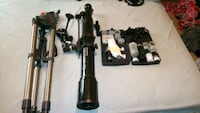 Celestron astromaster 70 EQ 70mm telescope with several lenses and fil Essex, 21221