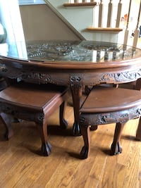 Hand carved Chinese coffee table Simpsonville, 29681