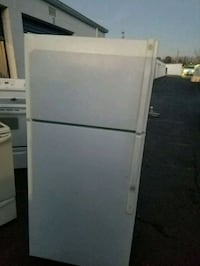 white top-mount refrigerator 51 km
