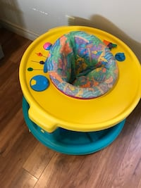 baby's yellow and blue activity center South Bruce, N0G