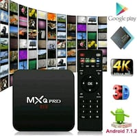 Brand new programmed Android Box watch FREE Live TV/ movie show Mississauga, L5W 1V2