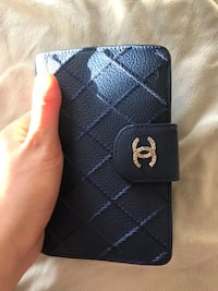 Chanel Blue leather wallet  Toronto, M5T 1L1