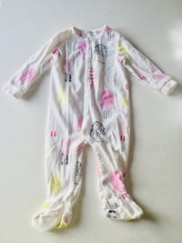 baby's white and pink footie pajama Repentigny, J5Y