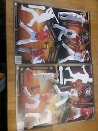 Fathead baseball team sets (Nationals, Angels) Missing Harper, Trout Hampton, 23669