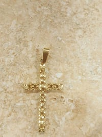 14k Yellow Gold Cross Pendant Newington, 06111