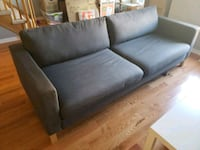Gray Denim Ikea Sofa / Sofa Bed Toronto