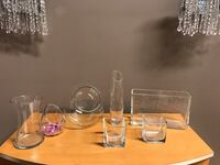 clear glass pitcher and drinking glasses Vaughan, L6A