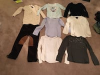 HUGE 30 Piece Lot of Brand Name Girl's Clothes Size 6 and 6/7 GAP, Ralph Lauren etc Virginia Beach, 23455
