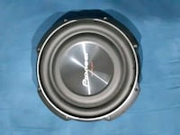 round black and gray Pioneer subwoofer Port Coquitlam, V3B 4K6