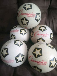 5 champion #4 official weight & size soccer balls Hampton, 23666