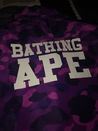 Purple Bape Jacket Markham, L6B