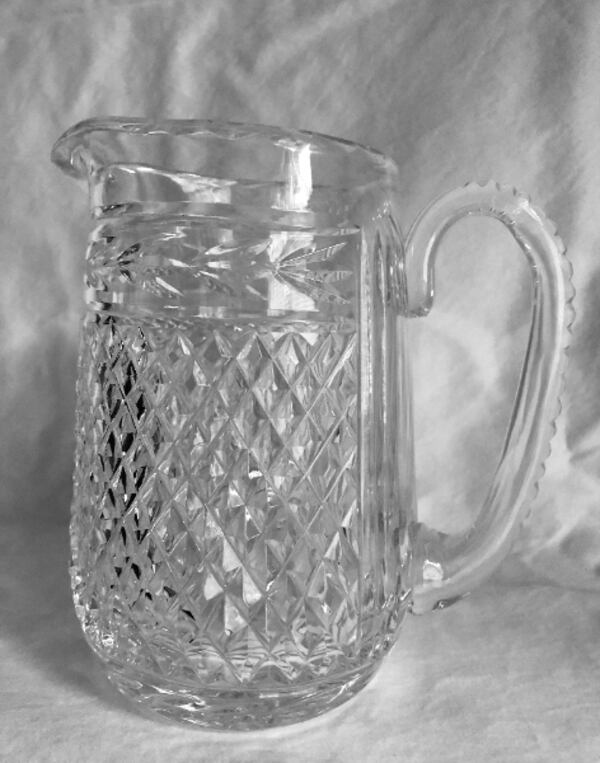 """Vintage """"Glandore"""" Pattern Cut Crystal Martini Pitcher by Waterford 168bc732-ce11-404f-969d-2f5024958e0d"""