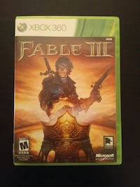 Xbox 360 Fable 3 Vaughan, L4L