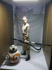 Star Wars 30 cm rey + bb8 hasbro.