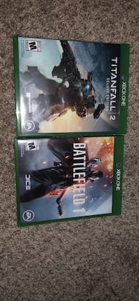 2 Xbox games for sale Alexandria, 22314