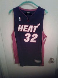 black and red Heat 32 NBA jersey Montréal, H3S 1G7