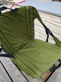 green and black camping chair 2214 mi