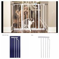 New, unused.. pet gate and additional extensions St Thomas, N5R 6M6