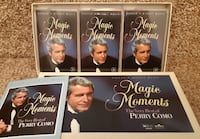 The Very Best of Perry Como - 3 Cassette Tapes  Reader's Digest Magic  Newmarket