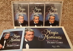 The Very Best of Perry Como - 3 Cassette Tapes  Reader's Digest Magic