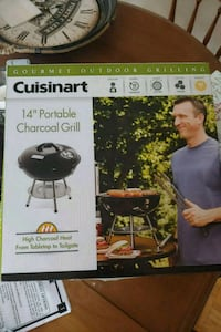 Portable charcoal grill Kitchener, N2C 1R6