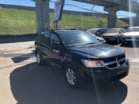 black Dodge Journey SUV MONTREAL
