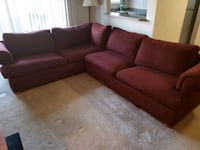 Red Sectional Sofa Fairfax, 22031