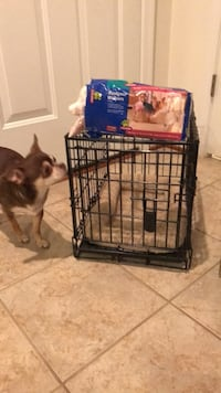 Nice Black Animal Crate with handle & removable Tray Gainesville, 20155